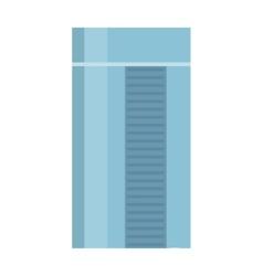Skyscraper in flat design vector