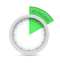 10 minutes timer vector