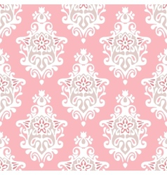 Damask flourish vector