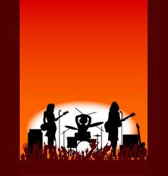 Girl band vector