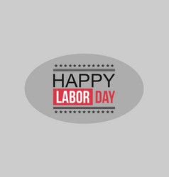 Labor day collection style background vector
