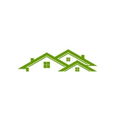 Roofs-380x400 vector image vector image