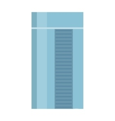 Skyscraper in flat design vector