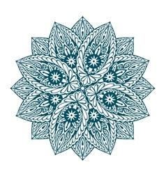 beautiful mandala Decorative ethnic floral vector image