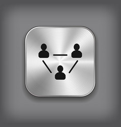 User group network icon vector