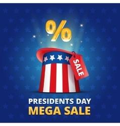 Poster usa presidents day mega sale vector