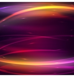 Abstract background with glow effect vector