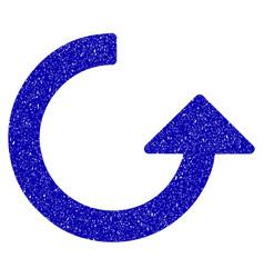 rotate icon grunge watermark vector image