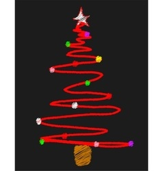 Blackboard Tree vector image