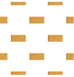 Wooden plank pattern flat vector