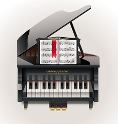 grand piano xxl icon vector