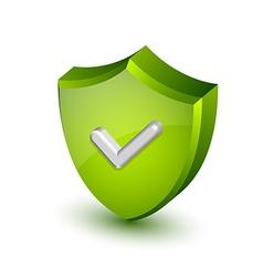 Security shield vector image