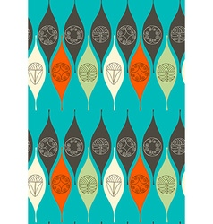 Abstract seamless pattern modern style motif vector