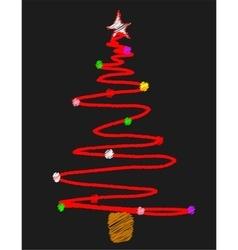 Blackboard Tree vector image vector image