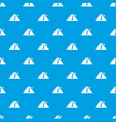 rockfall pattern seamless blue vector image vector image
