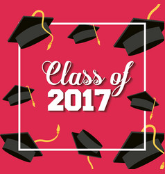 graduation achievement design vector image