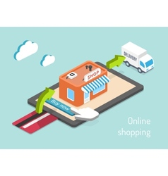 Purchase payment and delivery vector
