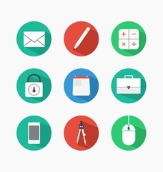 Flat icon design vector