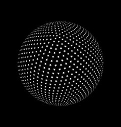 Abstract sphere element vector image vector image