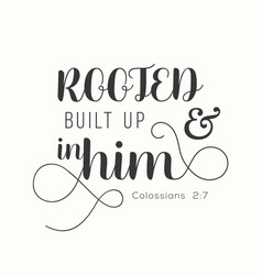 Bible verse for encourage vector
