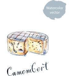 Camembert vector image vector image