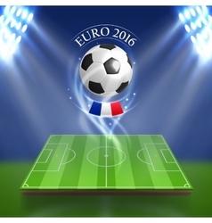 Euro 2016 concept vector