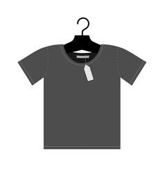 hanging t shirt vector image