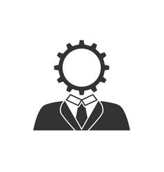user setting icon vector image