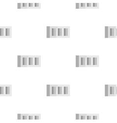 Building block pattern flat vector