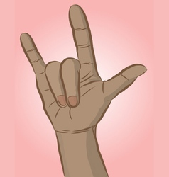 Handsign1 vector