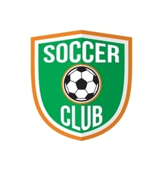 Best soccer club logo vector image