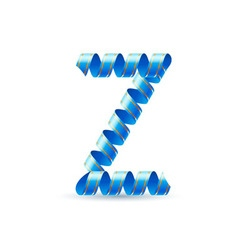 Festive alphabet vector