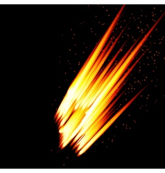 Abstract background-fire shape vector image