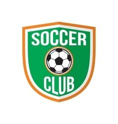 Best soccer club logo vector