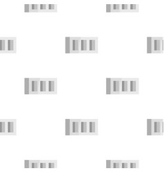 Building block pattern flat vector