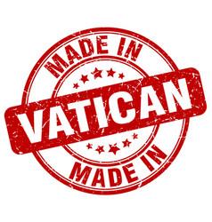 Made in vatican vector