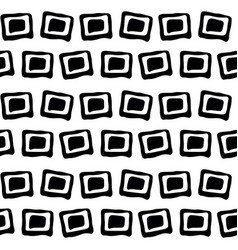 seamless black and white background pattern vector image vector image