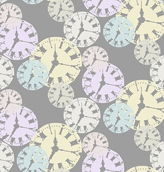 Seamless Watch Pattern vector image