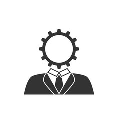 user setting icon vector image