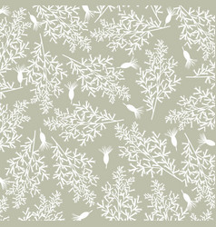 Vintage background with flowers background vector