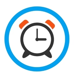 Alarm Clock Rounded Icon vector image vector image