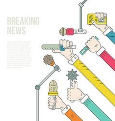 Journalism Concept vector image