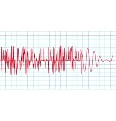 Seismograph vector image