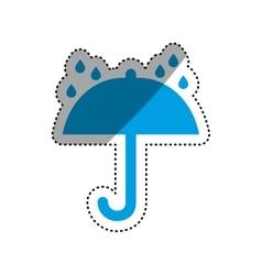 Umbrella symbol delivery and logistics vector