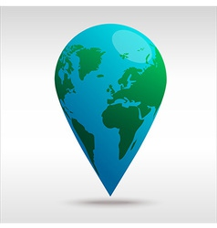 worldPin vector image