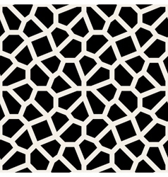 Seamless black and white geometric lace vector