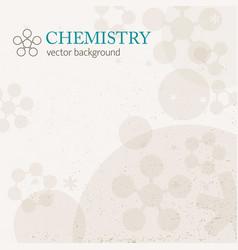 Light chemistry background vector