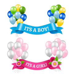 Its a boy and girl vector
