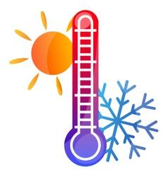 air conditioning symbol vector image