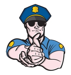 Police officer1 resize vector